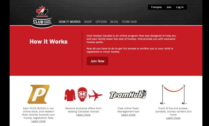 club hockey canada.