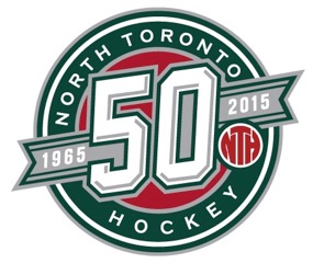North Toronto 50th Anniversary Logo