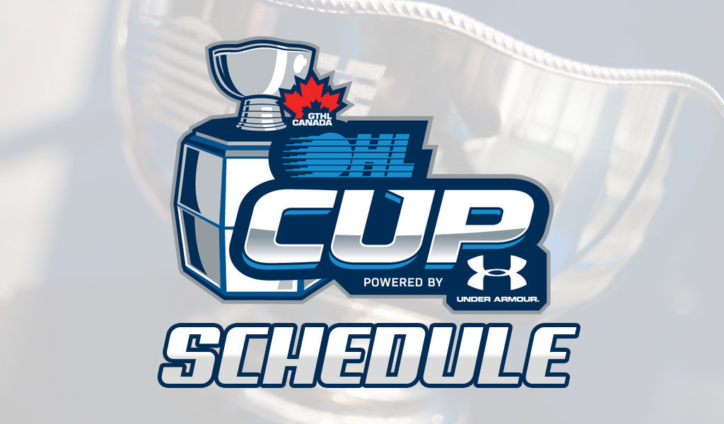 2019 Ohl Cup Powered By Under Armour Schedule Gthl